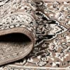 """Superior Elegant Glendale Collection Area Rug, 8mm Pile Height with Jute Backing, Traditional Oriental Rug Design, Anti-Static, Water-Repellent Rugs - Brown, 2'7"""" x 8' Runner #2"""