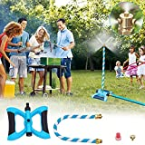 Tesmotor Stand Mister System, Portable Misting System for Outdoor Patio Cooling (3 Different Directions Spary nozzles and 1.27FT Adjustable Tube)