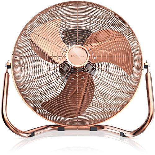 Brandson - Macchina del Vento - Ventilatore da Tavolo - Ventilatore da 50 cm - 3-Livelli di Potenza...