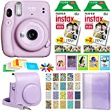 Fujifilm Instax Mini 11 Instant Camera - Lilac Purple (16654803) + 2X Fujifilm Instax Mini Twin Pack...