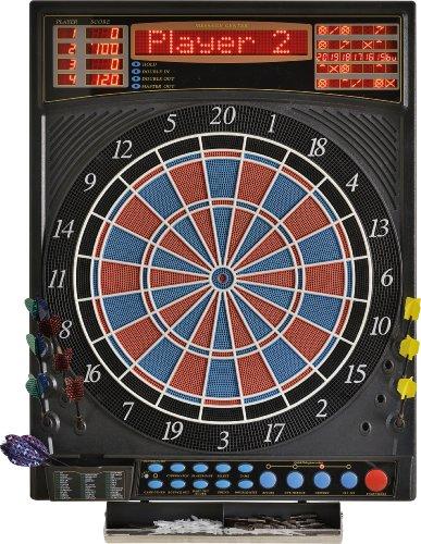 Dartona Elektronische Dartscheibe JX2000 Turnier Pro - Turnierscheibe mit 41 Spielen und über 200 Varianten