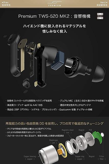 JPRiDE Premium T-520 MK2 内部構造