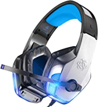 BENGOO V-4 Gaming Headset for Xbox One, PS4, PC, Controller, Noise Cancelling Over Ear..