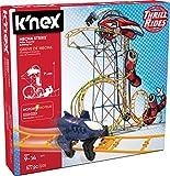 KNEX- Thrill Rides-Jeu Construction-Circuit Mécha Strike-2 Modèles Motorisés, 18515