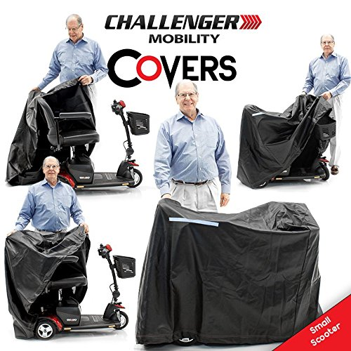 Challenger Mobility CMC-310 Cover for Scooter, Heavy Duty Light Vinyl, Small