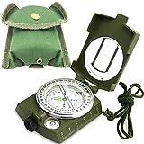 ydfagak Boussole Professionnelle Camping Compass Multifonction Portable Boussole Militaire...