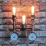 Lámpara de pie de madera maciza de estilo colonial, luces de noche y lámparas de noche de dormitorio creativo (Color: A, Tama de S: S)