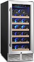 BODEGA 15'' Wine Cooler,Built-in or Freestanding Wine Refrigerator 31 Bottle..