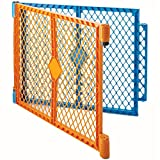 Toddleroo by North States Superyard Colorplay 2 Panel Extension: Increases Play Space up to 34.4 sq. ft. (Adds 64', Multicolor)