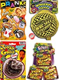 FLARP Kit Set of 10 Prank Games. Self Inflating Whoopee Cushion, Fake Dog Poop, Flarp Prank Kit, Stink Bags and Bouncy Ball. 44-327-1379-6416p