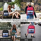 Northwest Wall of Forbidden City,Leather Bag Kid? Beijing China for Women Waterproof 15IN