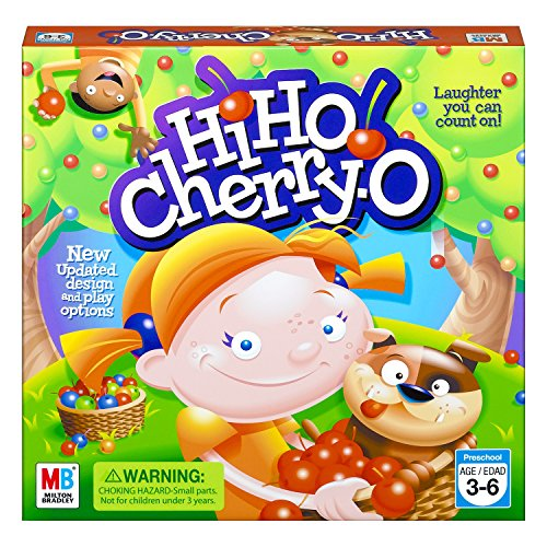 Hasbro Hi Ho! Cherry-O Board Game for 2 to 4 Players Kids Ages 3 and Up (Am...