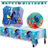 Finding Dory Children Birthday Party Tableware Pack - Serves 16