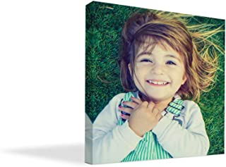 """BuildASign Your Photo on Custom Personalized Canvas Prints (8×8) 0.75"""" Wrap.."""
