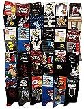 Disney socks Pack de chaussettes Licence fantaisies assorties - Assortiment selon arrivages- (39/42, Pack de 10 modèle Homme)