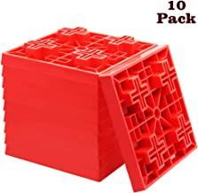 yosager 10 Pack Heavy Duty Leveling Blocks, Ideal for Leveling Single and Dual Wheels,..