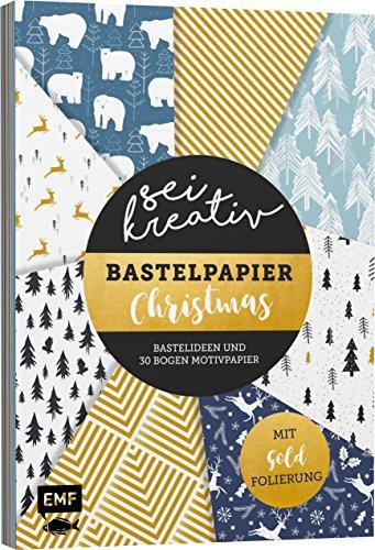 Sei kreativ! – Bastelpapier Christmas: Bastelideen und 30 Bogen Motivpapier – Mit...