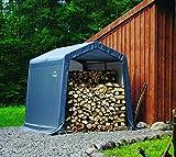ShelterLogic 8' x 8' x 8' Shed-in-a-Box All Season Steel Metal Peak...