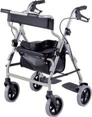 Andador-silla de ruedas Marca NRS Healthcare. Modelo M58203.