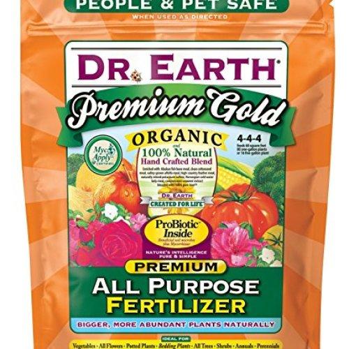 Dr. Earth Premium Gold All Purpose Fertilizer 4 lb