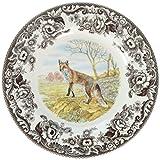 Spode 1607262 Woodland Red Fox Dinner Plate