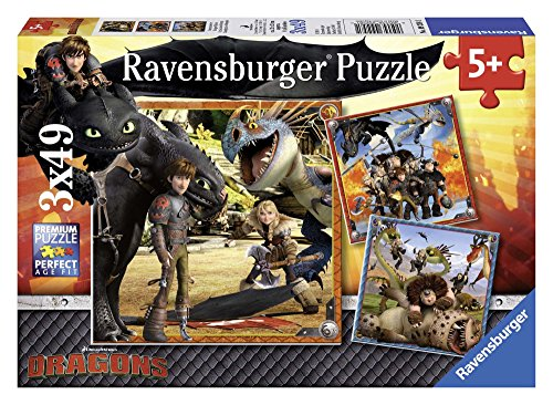 Ravensburger Italy- Puzzle Dragons, 09258 1