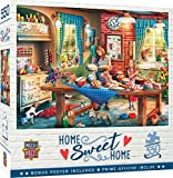 MasterPieces Home Sweet Home Puzzles Collection - Baking Bread 550 Piece Jigsaw Puzzle