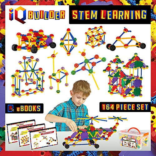 IQ BUILDER STEM Learning Toys Creative Construction Engineering Educational Building Toy
