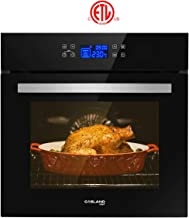 """Single Wall Oven, GASLAND Chef ES611TB 24"""" Built-in Electric Ovens, 240V 3200W.."""