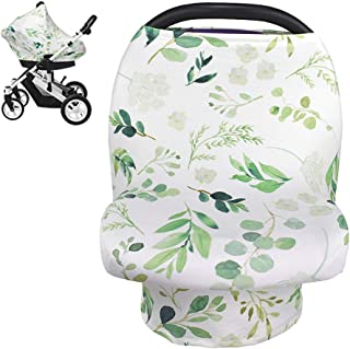 Nursing Cover Breastfeeding Scarf, Car Seat Covers for Babies Infant Carseat Canopy,..