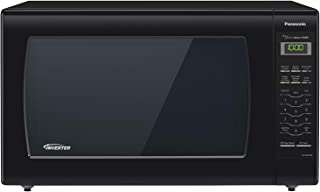 Panasonic Microwave Oven NN-SN936B Black Countertop with Inverter Technology and Genius..