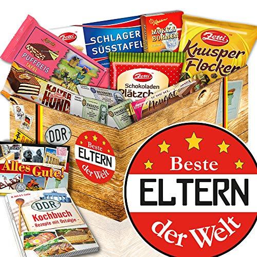 Beste Eltern der Welt / DDR Schokoladenset / Geschenk Eltern Hochzeitstag