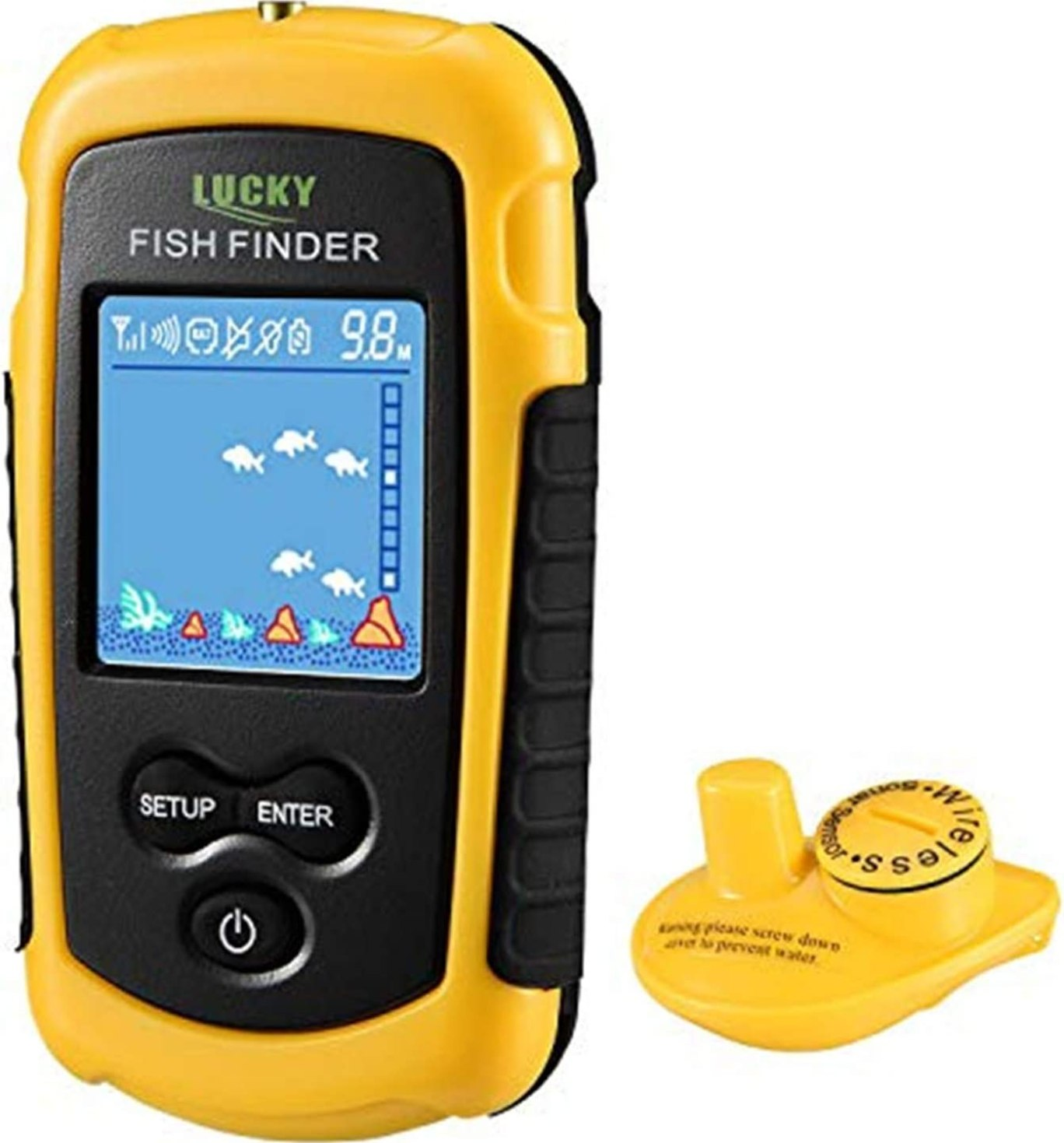 LUCKY Portable Wireless Fish Finder review