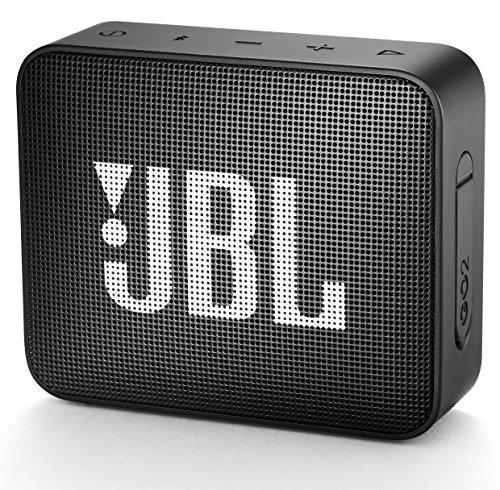 JBL Enceinte sans Fil Portable Bluetooth GO 2 Noire Wireless Bluetooth JBLGO2BLK