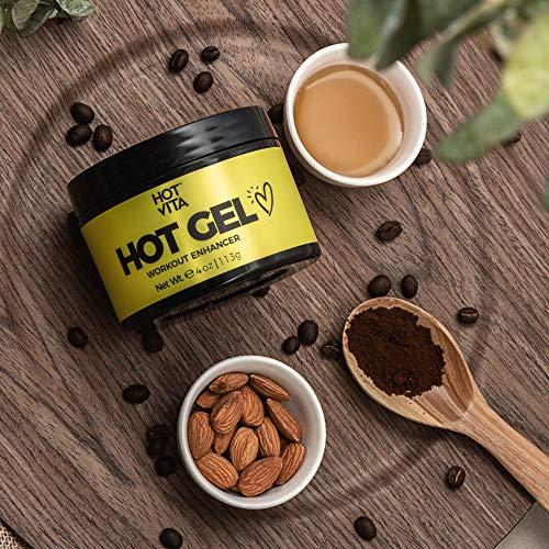 Hot Vita Hot Gel – Sweat Cream Workout Enhancer Belly Slimming Gel (4 oz) 4