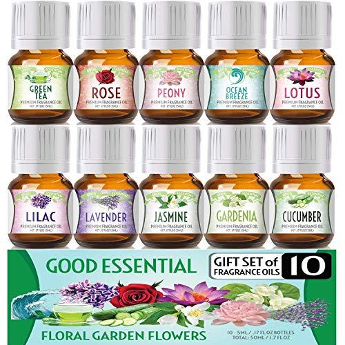 Floral Essential Fragrance Oil Set