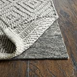 RUGPADUSA, Anchor Grip, 5'x7', 1/8' Thick, Felt + Rubber, Low Profile Non-Slip Rug Pad, Available in 3 Thicknesses, Many Custom Sizes, Safe for All Floors