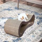 ScratchMe-Cat-Scratching-Post-Lounge-Bed-Cat-Scratcher-Cardboard-with-Catnip-Recycle-Corrugated-Scratching-Pads-to-Sharpen-Claws-Pet-32x105x105