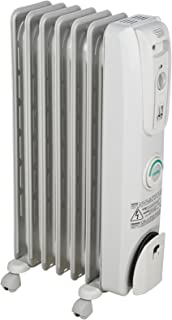De'Longhi Oil-Filled Radiator Space Heater, Quiet 1500W, Adjustable Thermostat, 3..