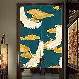 Pueri Rideaux Japonais Rideau Voilage Fenêtre Noren Rideau de Porte Panneau...