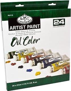 Nacho Quiroga Artista Plástico - Óleos (21 ml, 24 unidades), multicolor