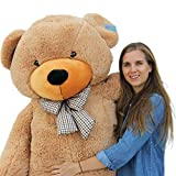 Joyfay 78' Giant Teddy Bear Brown Huge 6.5 feet Stuffed Teddy Bear Soft Toy Valentine's Big Gift