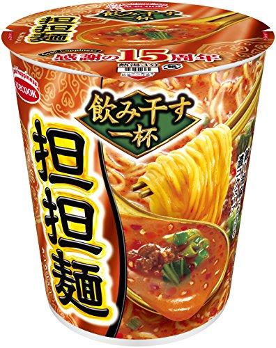 エースコック タテ型 飲み干す一杯 担担麺 76g×12個