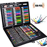 Legendog Set de Dessin,150PCS Crayon de Couleur Professionnel,Set de Dessin...