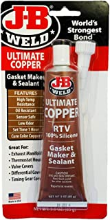 J-B Weld 32325 Ultimate Copper High Temperature RTV Silicone Gasket Maker and Sealant..