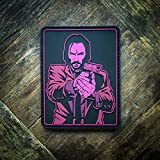 John Wick Baba Yaga On Target PVC Morale Patch – Hook Backed by NEO Tactical