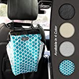 Keep It Clean CarBage The Auto Trash Can, Auto Litter Bag, Auto Garbage Bin, Car Trash Pail, Great for Cars, Boats & RV's (Teal)