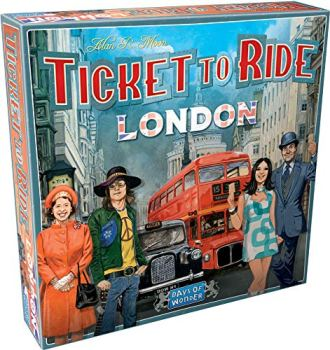 Days of Wonder Ticket to Ride London Board Game | Family Board Game | Board Game for Adults and Family | Bus Game | Ages 8+
