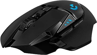 Logitech G502 Lightspeed Wireless Gaming Mouse, Hero 16K Sensor, 16,000 DPI, RGB,..