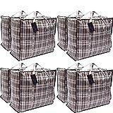 Paquet de 8 sacs à provisions pour la buanderie XX-Large STRONG - Sacs de...